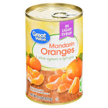 great value mandarin oranges light syrup 15 oz walmart com