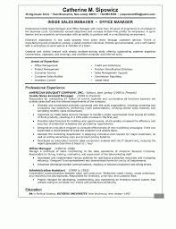 Resume Manager Sample Sales Manager Resume Samples Resume For Your Job Application