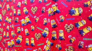 minion wrapping paper buy 10 pcs minion gift wrap paper sheets 50x70 cms for birthday