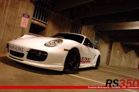 porsche cayman s performance cayman s rs350 kit with remus exhaust for 2006 2008 cayman s