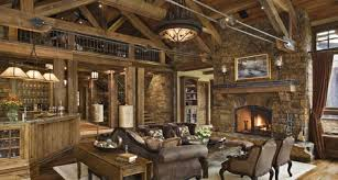 living room rustic home interior awesome luxury rustic living