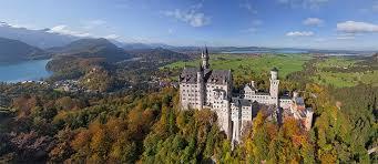 neuschwanstein castle germany 360 aerial panoramas 360