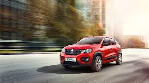small renault renault kwid small car red front angle images carblogindia