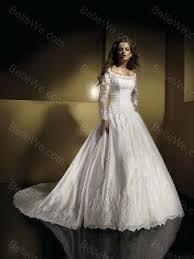 robe mariã e manche longue robe de mariée le en satin longue blanche avec manches dentelle