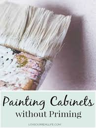 how to paint cabinets without primer painting cabinets without priming the ultimate s