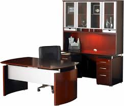 Napoli Reception Desk Mayline Napoli Office Desk Set Sierra Cherry Veneer Silver Nt38cry