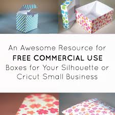 creating your own paper boxes for silhouette products cutting