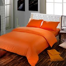 Orange Bed Sets Wholesale Hotel Bedding Setwhite Duvet Cover Bedspreadsbedroom