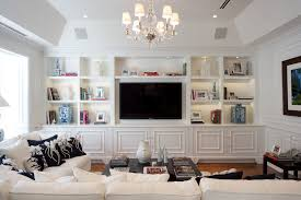 built in tv wall arresting built in tv wall units image gallery in family room