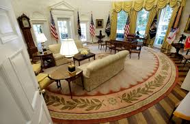 oval office redecoration trump white house spending 1 75 million on new furniture