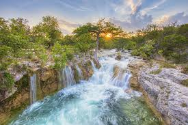 Texas landscapes images Texas hill country waterfall 1 texas hill country images from jpg