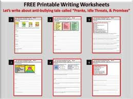 bullying worksheets for middle free worksheets library