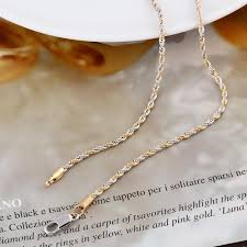 tone gold necklace images 2018 xuping jewelry women 39 s necklace 14k yellow amp white gold jpg