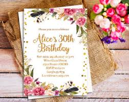 21st birthday party invitation birthday invite photo