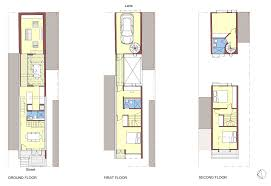 18 skinny houses floor plans narrow modern infill tiny