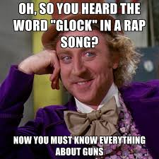 Memes Song - oh so you heard the word glock in a rap song now you must know