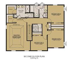 Fox And Jacobs Floor Plans Stratford Ii Floor Plans William Ryan Homes