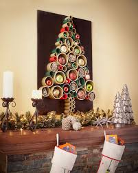wall christmas tree pipe christmas tree wall hanging