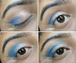 makeup tips with emo tutorial after this i have applied eye shadow marked 2 on the