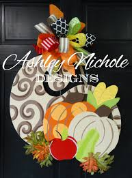 etsy thanksgiving decorations cornucopia fall door hanger door decoration fall decor fall