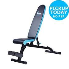 argos gym bench men s health incline decline flat bench with footrest from