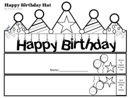 happy birthday dr seuss happy birthday dr seuss hat printable by s brain tpt