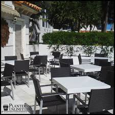 Commercial Patio Furniture by Commercial And Outdoor Furniture Site Amenities Planters Unlimited