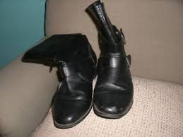 ebay womens leather boots size 9 womens leather boots size 9 biker type small heel bought from avon