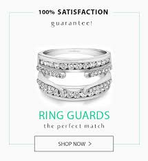 custom wedding band to fit engagement ring ring guards ring wraps wedding rings more at twobirch