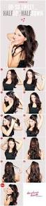 How To Do The Perfect Eyebrow 9 Hacks To Get The Perfect Half Up High Ponytail Hairstyle