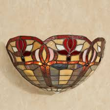 Wireless Led Wall Sconce Roses Stained Glass Led Wall Sconce Wireless Light Sconces