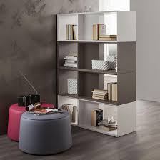 Room Divider With Shelves Furniture Brown Wood Book Shelf Room Divider Combine With Cream