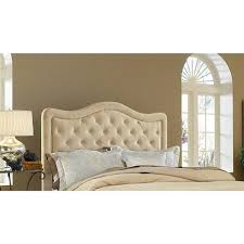 Hillsdale Bedroom Furniture by Hillsdale Furniture Trieste Fabric Headboard Queen Buckwheat
