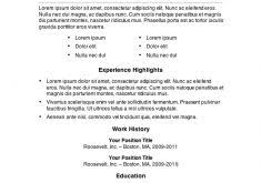 Microsoft Word Template Resume Inspirational Design Microsoft Word Templates Resume 11 7 Free