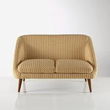 canap r tro canape deux place canap en tissu 2 places style r tro rissa mobilier