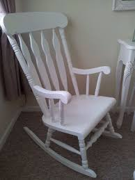 White Rocking Chair White Rocking Chair In Cramlington Northumberland Gumtree