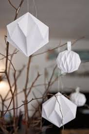 10 easy diy ornaments you can make out of paper paper folding