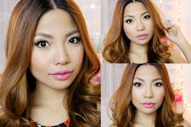 hair color for pinays easy make up for pinay morena using local products youtube