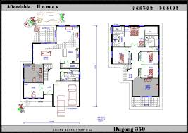 new home design plans architecture two storey house floor plan small contemporary