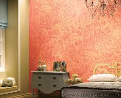 Wall Paint Designs Pink Peach Colours Asian Paints Royale Play - Bedroom wall paint designs
