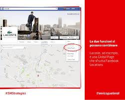 lacoste si e social locations per il franchising e le catene di negozi social