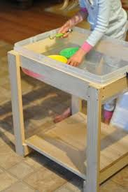 how to build a sensory table joyrevisited diy sensory table for children hubby s to build list