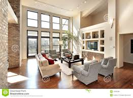 Open Floor Plan Living Room Family Room In Open Floor Plan Stock Image Image 12655381