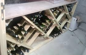 Rangement Pour Cave A Vin Plan De Fabrication D U0027un Casier à Bouteilles Forum Décoration
