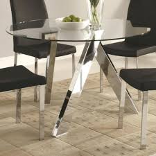 glass dining room tables rectangular innovative tables easy dining