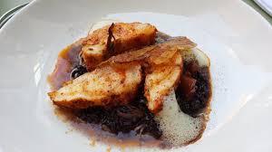 cuisine eric leautey un délice raffiné lotte au riz noir venere photo de a table chez