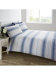 ponden home interiors harbour stripe duvet set blue ponden homes