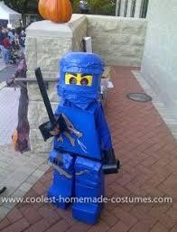 Lego Ninjago Halloween Costumes Finished Homemade Ninjago Cole Lego Lego Ninjago