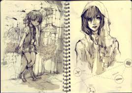 notebook sketch by gadriann on deviantart
