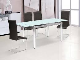 Table Verre Pied Central by Table Repas
